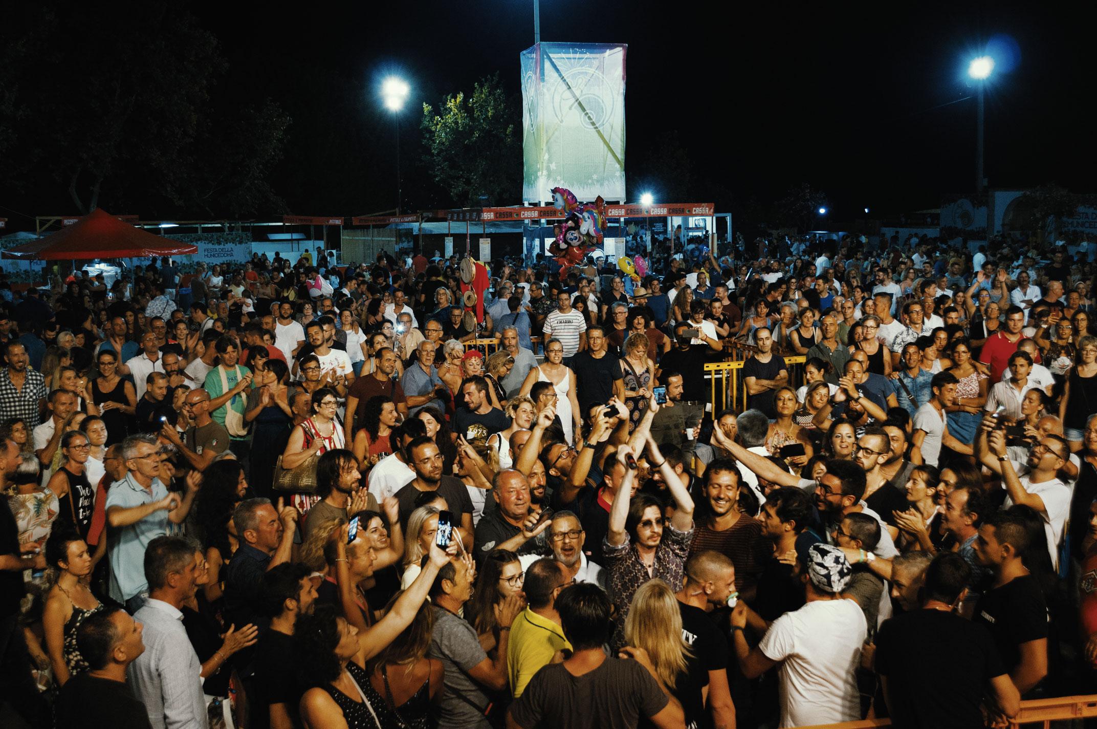 Festa della Municeddha spettatori